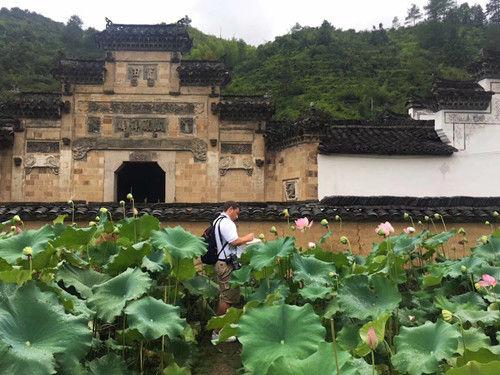 松阳古村,如一幅水墨画。松阳新闻提供
