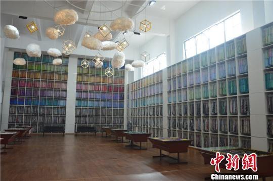 尚1051文创园花样展示厅 吴平 摄