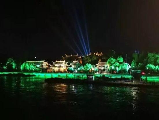 江心屿美丽夜景 鹿城宣传部供图