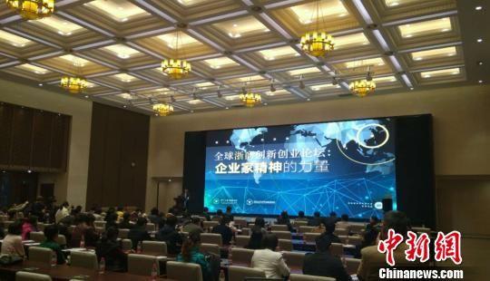 全球浙商创新创业论坛现场。 王逸飞 摄