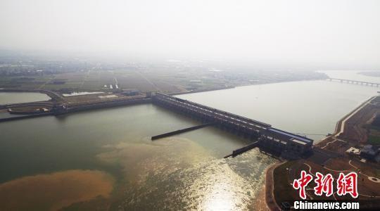 红船豆航电枢纽。衢州港航供图
