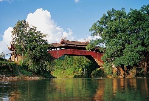 图为温州廊桥 温州市旅游信息中心供图