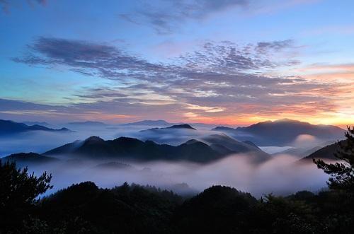 图为温州乌岩岭之晨 温州市旅游信息中心供图