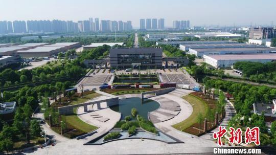 杭州综合保税区。杭州经济技术开发区管理委员会供图