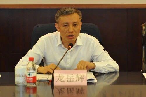 浙江省国税局党组书记、局长龙岳辉讲话。 浙江省国税局供图