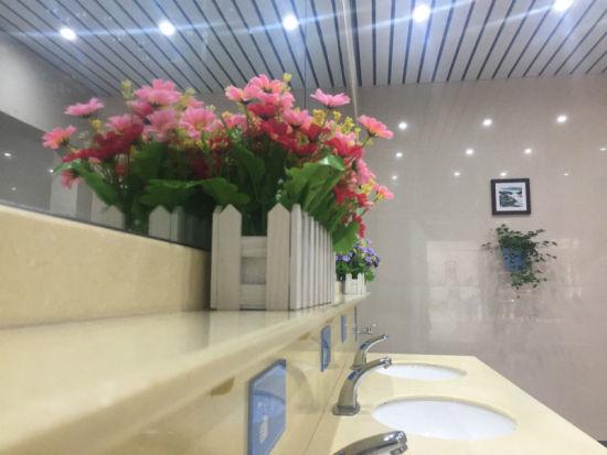 厕所环境 庄卫东 摄