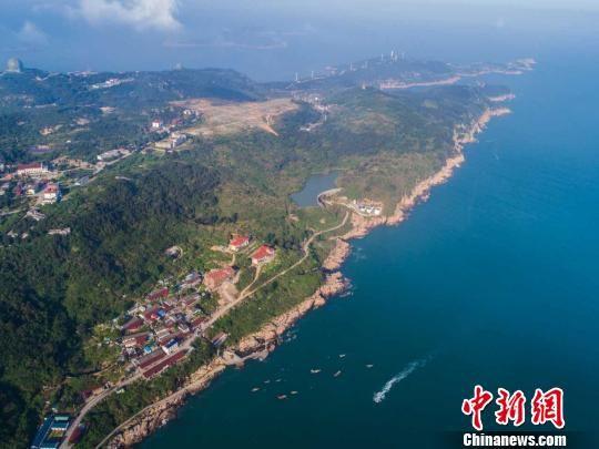 """南麂列岛是中国""""十大美丽海岛""""之一 平阳宣传部提供 摄"""