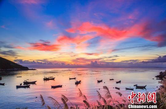 南麂列岛秀美的自然风光 平阳宣传部提供 摄