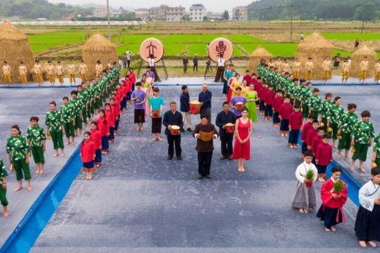 立夏开秧旅游文化节 衢州宣传部提供