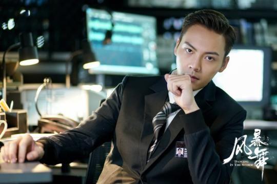 图为:陈伟霆在《风暴舞》中饰演的李俊杰。