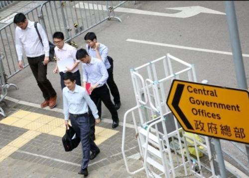 特区政府公务员招聘考试将接受报名。图片来源:香港《文汇报》资料图