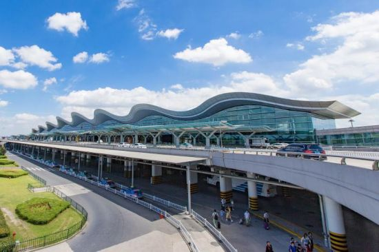 图为:杭州萧山国际机场。杭州机场供图