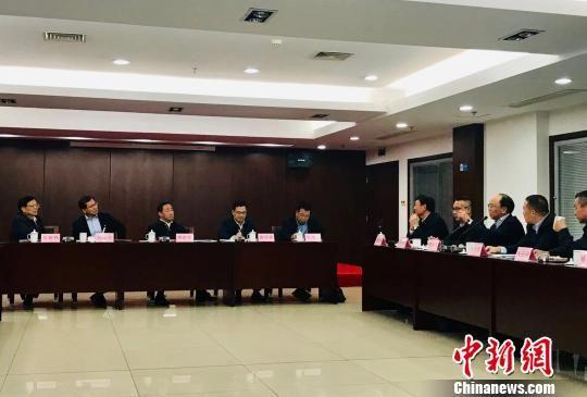"""中国司法部部长进民企问需为民营经济再吹""""暖风"""""""