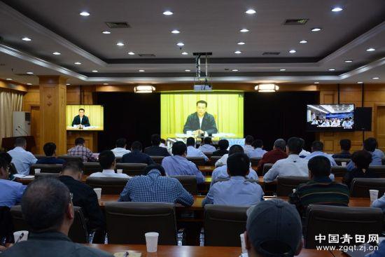 浙江省政府第一次全体(扩大)视频会议召开